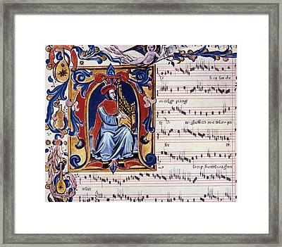Francesco Landini Framed Print by Granger