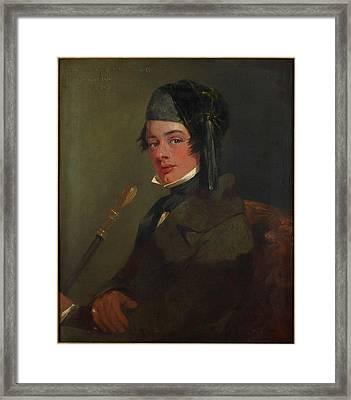 Francis Alexander Molesworth Framed Print by Charles Landseer