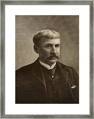 Francis Bret Harte, 1836-1902. American Framed Print