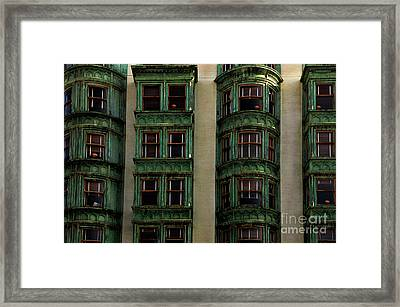 Columbus Tower San Francisco Framed Print by Bob Christopher