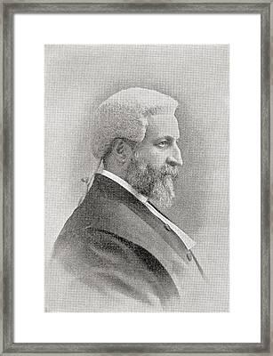 Francis Henry Jeune, 1st Baron St Framed Print