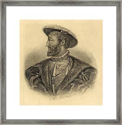 Francis I Aka Francis D Angouleme Framed Print