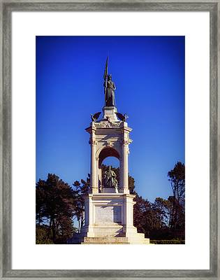 Francis Scott Key Monument - San Francisco Framed Print by Mountain Dreams