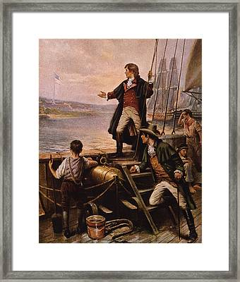Francis Scott Key - Star Spangled Banner Framed Print