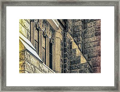 Franco Center Lewiston Maine Framed Print