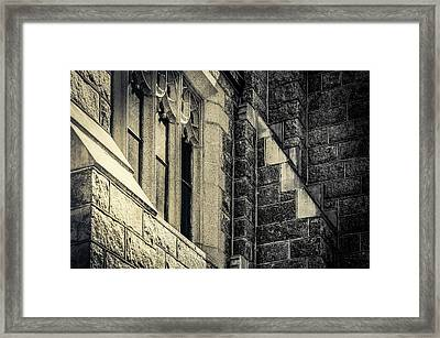 Franco Center Lewiston Maine II Framed Print