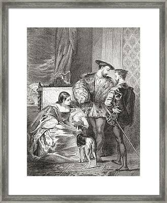 Francois I, 1494-1547, Anne De Framed Print by Vintage Design Pics
