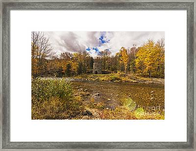 Framed Print featuring the photograph Franconia Iron Works by Anthony Baatz
