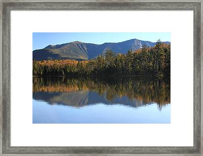 Franconia Ridge From Lonesome Lake Framed Print