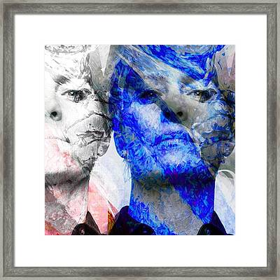 Frank & Claire Underwood. House Of Framed Print