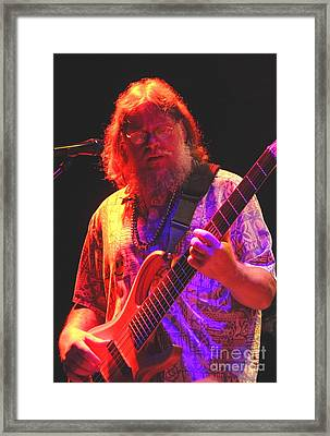 Frank D Framed Print by Jesse Ciazza
