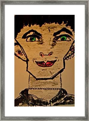 Frank En-stain Framed Print