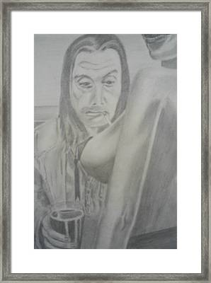 Frank Gallagher Shameless Framed Print by James Dolan