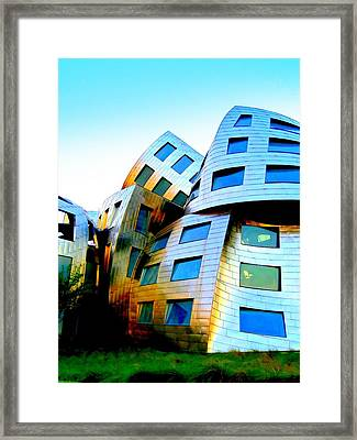 Frank Gehry 3 Framed Print by Randall Weidner