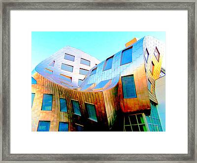 Frank Gehry 9 Framed Print by Randall Weidner
