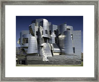 Frank Gehry Designed The Frederick R Framed Print by Everett
