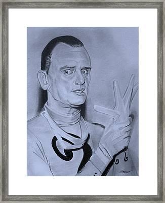 Frank Gorshin The Riddler Framed Print by Robert Steen