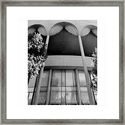 Frank Lloyd Wright's Gammage Framed Print