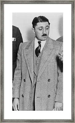 Frank Nitti 1881-1943 Chicago Gangster Framed Print by Everett
