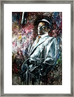 Frank Sinatra - Capitol Framed Print