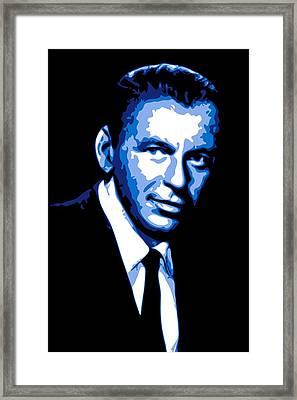Frank Sinatra Framed Print by DB Artist