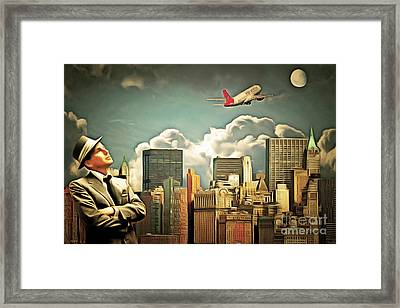 Frank Sinatra Fly Me To The Moon New York 20170506 V3 Framed Print