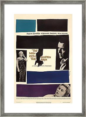 Frank Sinatra In The Man With The Golden Arm 1955 Framed Print
