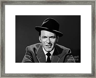 Frank Sinatra Framed Print by Meijering Manupix