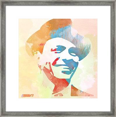 Frank Sinatra Framed Print by Naxart Studio