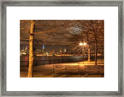 Frank Sinatra Park Framed Print