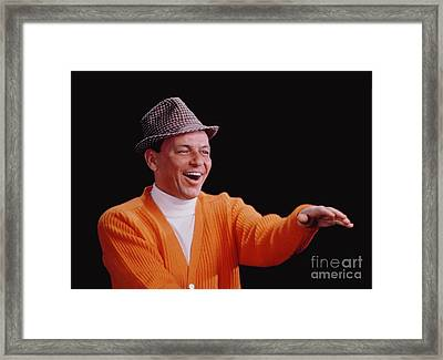 Frank Sinatra Promotional Photo From 1964 Framed Print