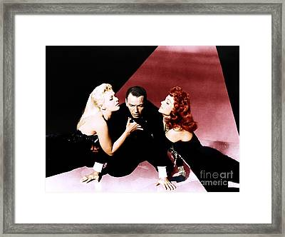Frank Sinatra Publicity Photo For The Film Pal Joey. Framed Print by The Titanic Project