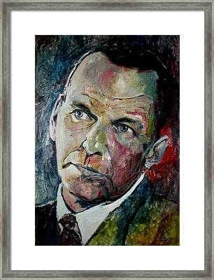 Frank Sinatra - Reprise Framed Print