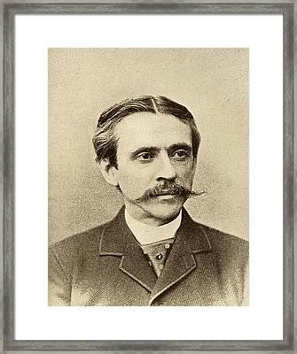 Frank Stockton, 1834-1902. American Framed Print