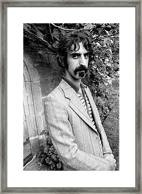 Frank Zappa 1970 Framed Print