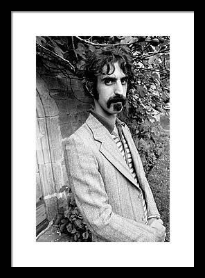 Frank Zappa Framed Prints