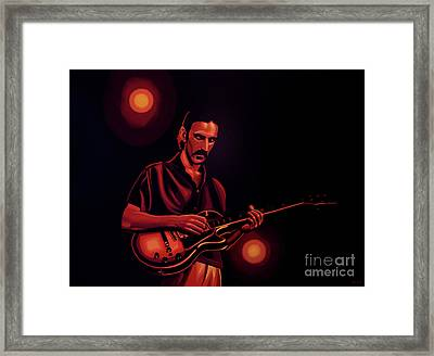 Frank Zappa 2 Framed Print by Paul Meijering