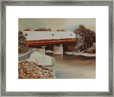Frankenmuth Michigan Framed Print by Sharon Steinhaus