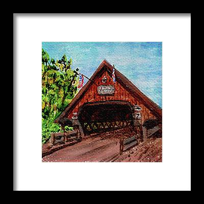 Michigan Frankenmuth Framed Prints