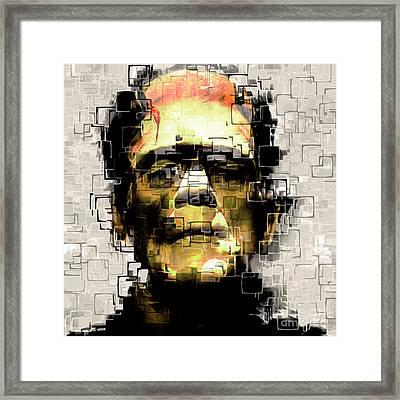 Frankenstein 20170325 Square Framed Print