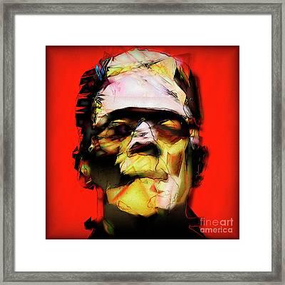 Frankenstein 20170325 V3 Square Framed Print