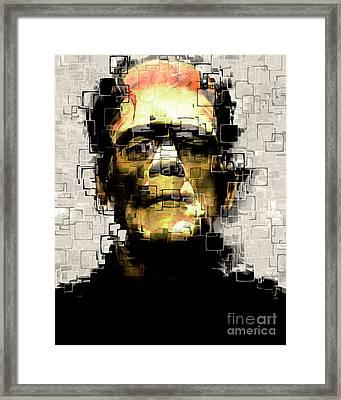 Frankenstein 20170325 Framed Print