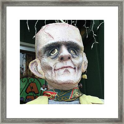 Frankenstein Framed Print by Art Block Collections