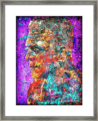 Frankenstein I Have Love In Me The Likes Of Which You Can Scarcely Imagine 20170406 Framed Print by Wingsdomain Art and Photography