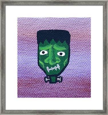 Frankenstein Framed Print by Jera Sky