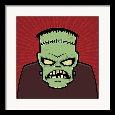 Monsters Framed Prints