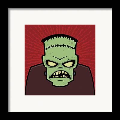Monster Framed Prints