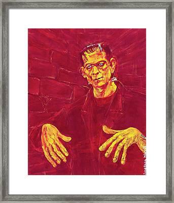 Frankenstein's Monster 1931 Framed Print
