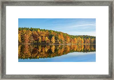 Frankenteich, Harz Framed Print by Andreas Levi