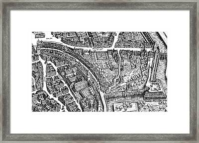 Frankfurt Am Main, 1628 Framed Print